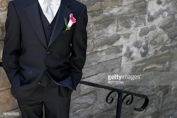 tuxedo man