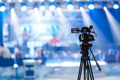 Tv camera in a concert hall 1016201648
