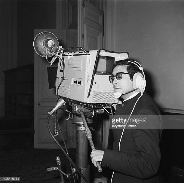 Tv Cameraman On October 24 1967