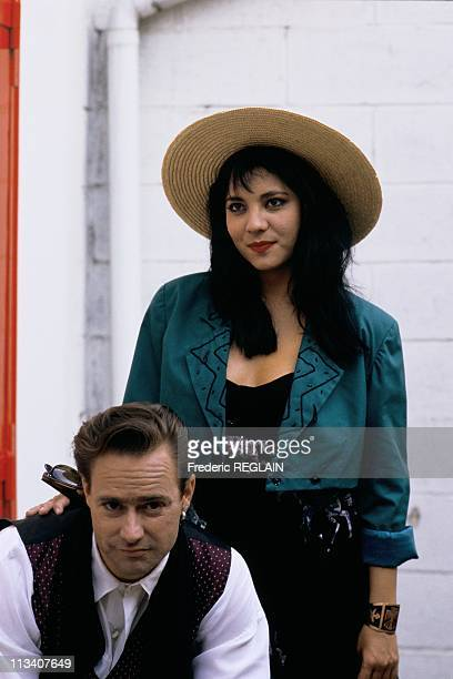 Tv 'Canal 5' Cock Robin On September 1st 1987 In ParisFrance