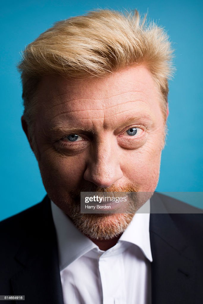 Boris Becker, Sunday Times magazine UK, June 7, 2015
