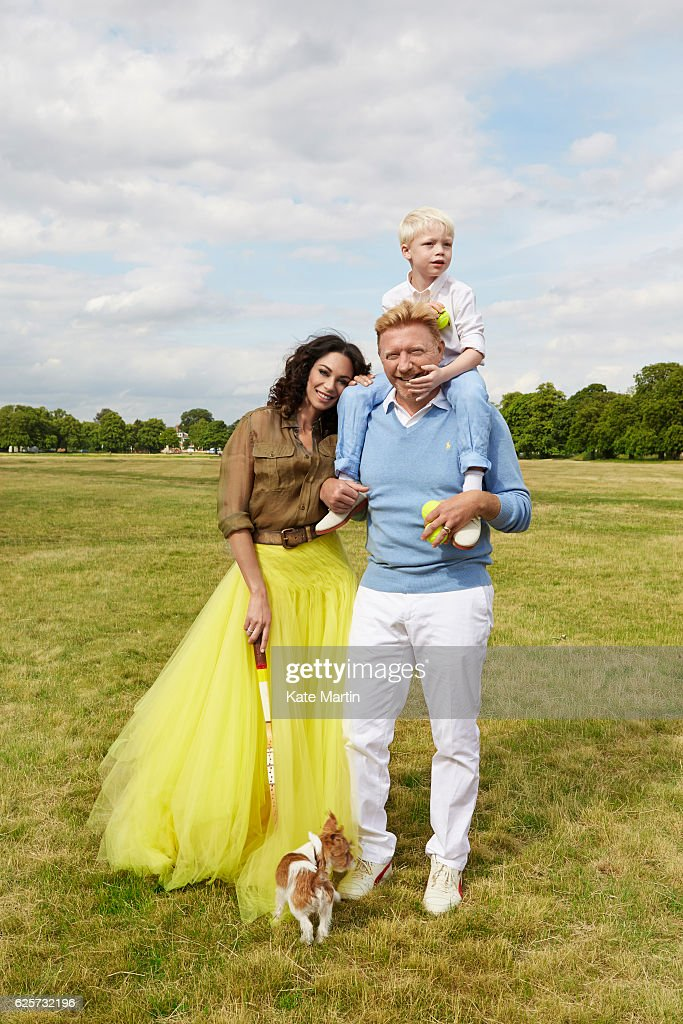 Boris Becker, Hello magazine UK, July 10, 2015 : News Photo