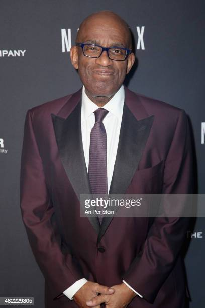 Tv Host AL Roker attends The Weinstein Company Netflix's 2014 Golden Globes After Party presented by Bombardier FIJI Water Lexus Laura Mercier Marie...