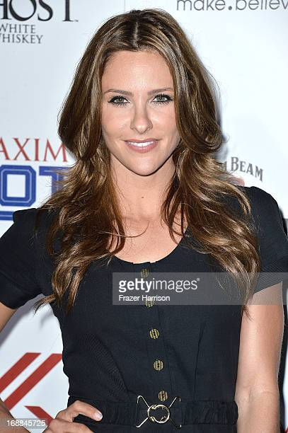Tv Host Jill Wagner attends the Maxim Hot 100 Party at Create on May 15 2013 in Hollywood California