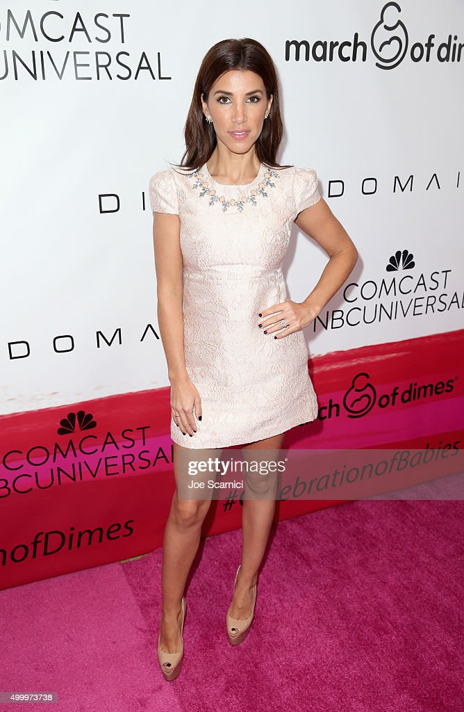 Tv personality Adrianna Costa attends the March Of Dimes Celebration Of Babies Luncheon honoring Jessica Alba at the Beverly Wilshire Four Seasons Hotel on December 4, 2015 in Beverly Hills, California.