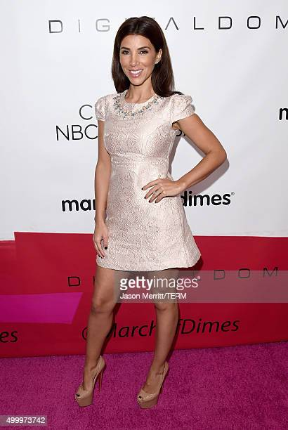 Tv personality Adrianna Costa attends the March Of Dimes Celebration Of Babies Luncheon honoring Jessica Alba at the Beverly Wilshire Four Seasons...