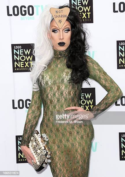 Tv personality Alaska attends the 2013 NewNowNext Awards at The Fonda Theatre on April 13 2013 in Los Angeles California