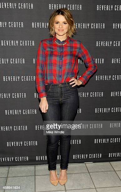 Tv personality Ali Fedotowsky attends the Beverly Center's Holiday Pet Portraits Debut on November 13 2014 in Los Angeles California