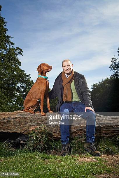 Tv personality and builder Richard Burr is photographed for the Telegraph on September 29 2015 in London England