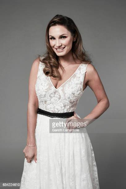 Tv personality and model Sam Faiers is photographed at the National Television Awards on January 25 2017 in London England