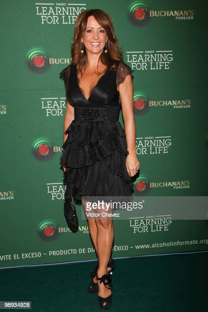 Tv personality Andrea Legarreta attends the Buchanan's Forever 2010 Learning For Life at Colegio de las Vizcainas on May 8 2010 in Mexico City Mexico