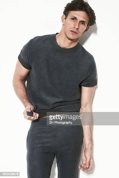 Tv personality as seen on the Only Way is Essex Jake Hall is photographed on March 20 2015 in London England
