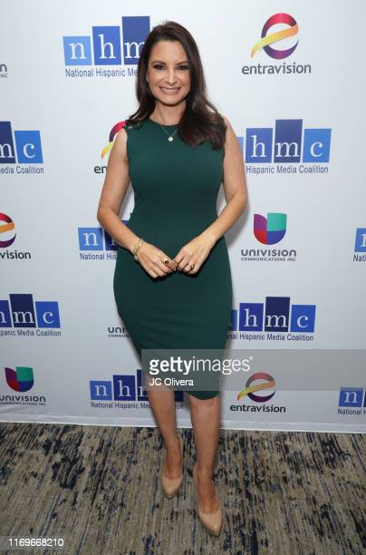 Tv personality Azalea Iniguez attends the NHMC's 17th Annual Los Angeles Impact Awards luncheon at Hilton Universal City on August 22 2019 in...