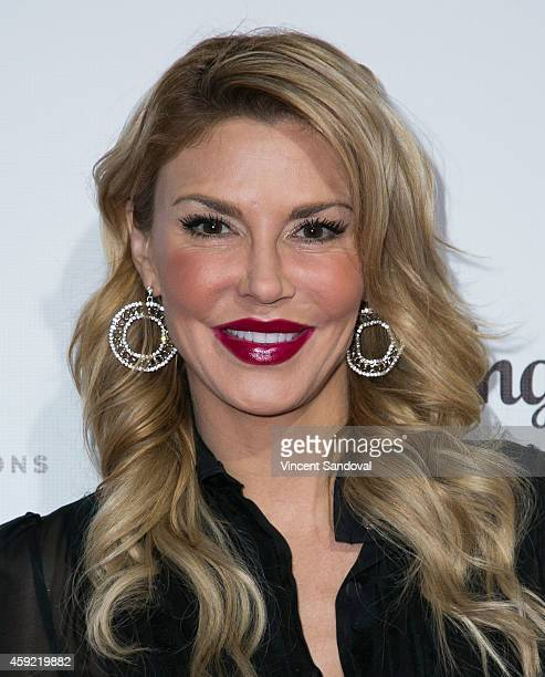 Tv personality Brandi Glanville attends Bravo's Los Angeles premiere of Girlfriends Guide To Divorce at Ace Hotel on November 18 2014 in Los Angeles...