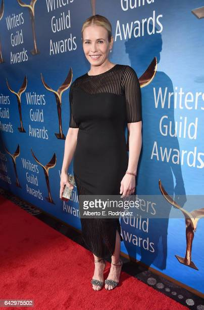 Tv personality Chelsea Handler attends the 2017 Writers Guild Awards L.A. Ceremony at The Beverly Hilton Hotel on February 19, 2017 in Beverly Hills,...
