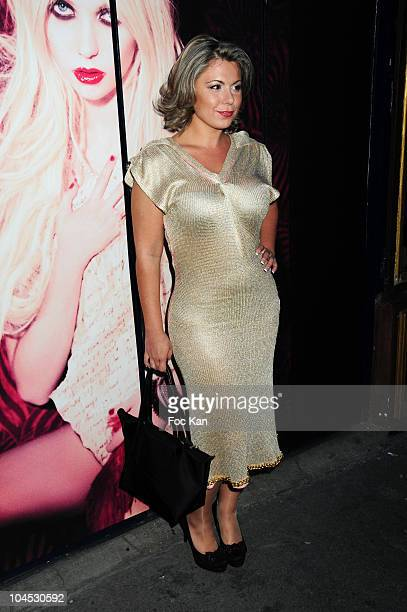 Tv Personality Cindy Lopes attend The 'Parlez Moi D'amour' John Galliano 'Eau de Toilette' Launch by Taylor Momsen at La Perouse Restaurant on...