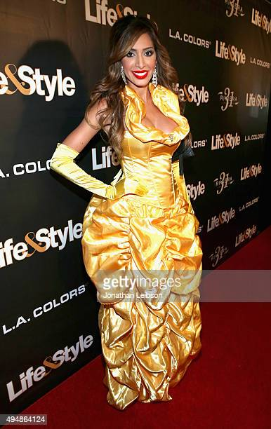 Tv personality Farrah Abraham attends Life Style Weekly's 'Eye Candy' Halloween Bash hosted by LeAnn Rimes at Riviera 31 at Sofitel on October 29...
