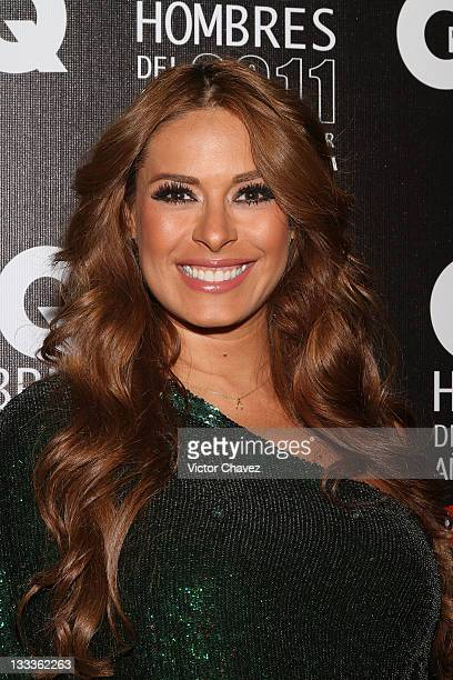 Tv personality Galilea Montijo attends the 2011 GQ Mexico Men of the Year at the Salon Arcos Bosques on November 17 2011 in Mexico City Mexico