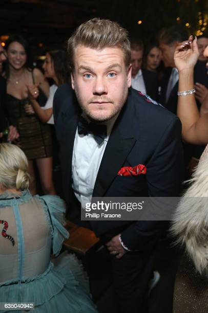 Tv personality James Corden at a celebration of music with Republic Records in partnership with Absolut and Pryma at Catch LA on February 12 2017 in...