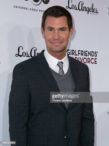 Tv personality Jeff Lewis attends Bravo's Los Angeles premiere of Girlfriends Guide To Divorce at Ace Hotel on November 18 2014 in Los Angeles...