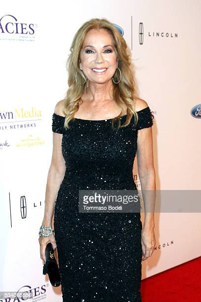 Tv personality Kathie Lee Gifford attends the 41st Annual Gracie Awards at Regent Beverly Wilshire Hotel on May 24 2016 in Beverly Hills California