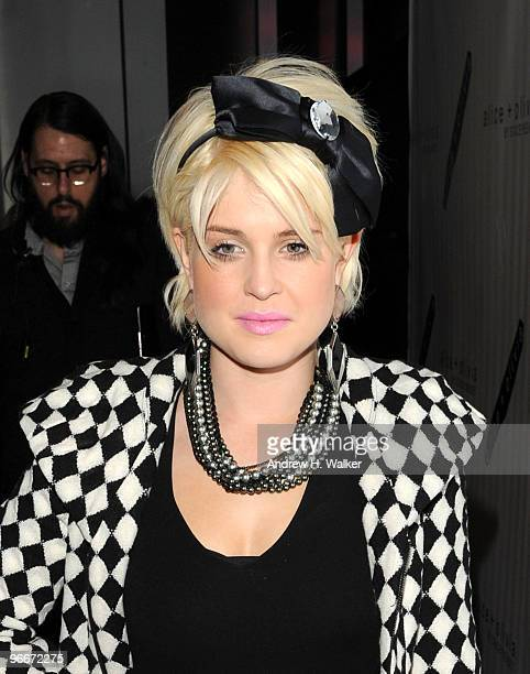 Tv personality Kelly Osbourne at the alice olivia Fashion Week presentation and live performance at Provocateur at The Hotel Gansevoort on February...