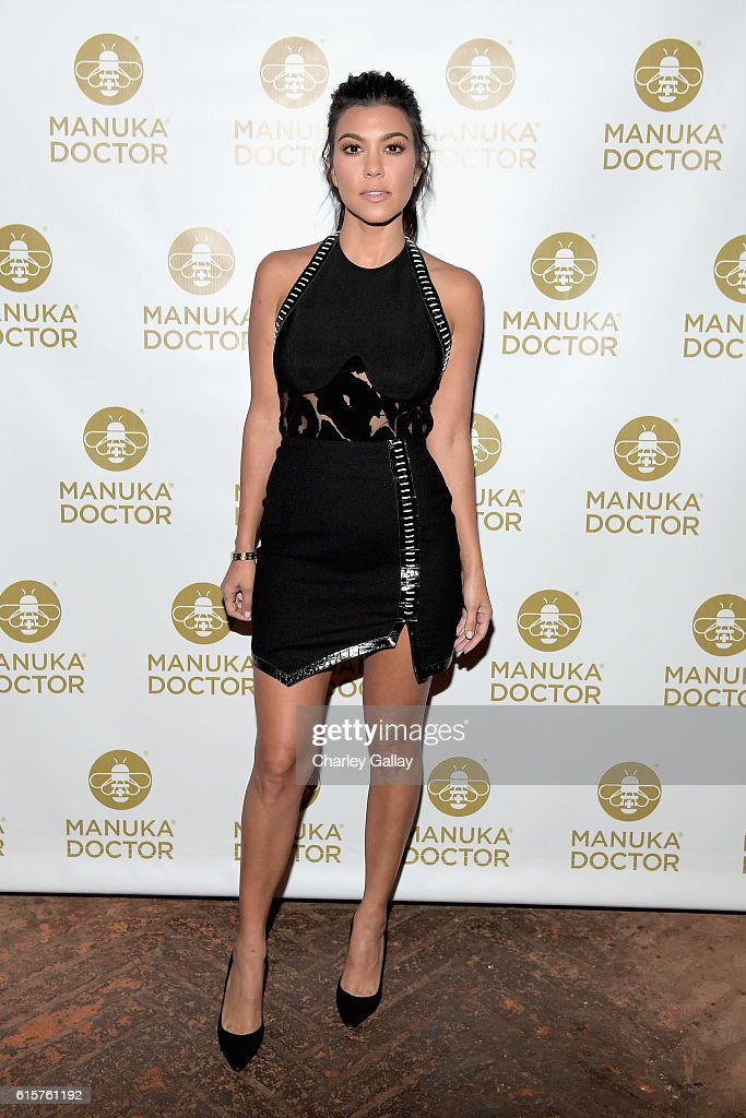 Cocktail Party With Manuka Doctor Global Brand Ambassador Kourtney Kardashian