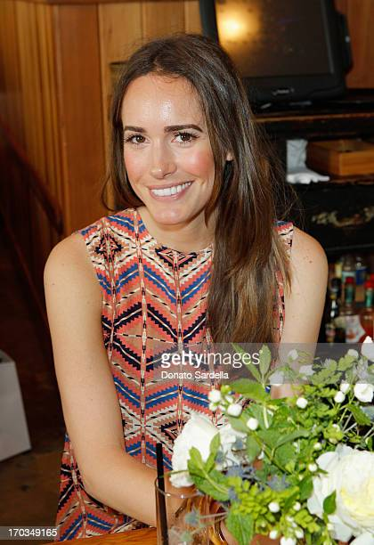 Tv Personality Louise Roe attends the Paper Denim Cloth and Baby2Baby Luncheon at Son Of A Gun on June 11 2013 in Los Angeles California