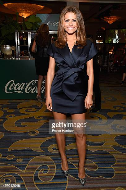 Tv personality Maria Menounos attends the 2014 Variety Power of Women presented by Lifetime at Beverly Wilshire Four Seasons Hotel on October 10 2014...