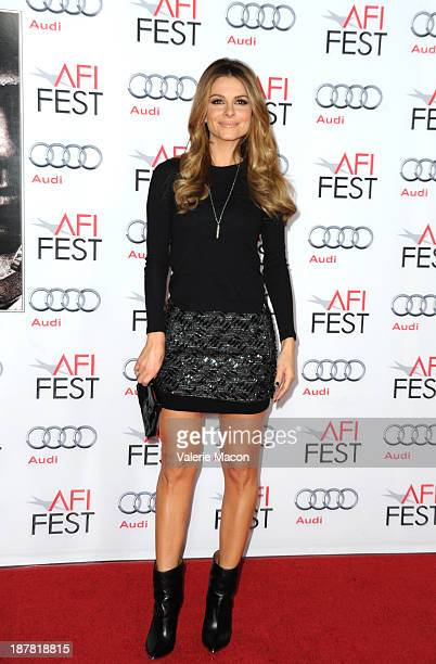 Tv personality Maria Menounos attends the premiere for Lone Survivor during AFI FEST 2013 presented by Audi at TCL Chinese Theatre on November 12...