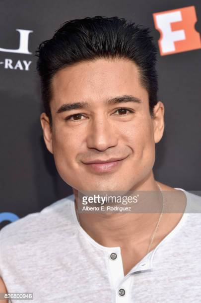 Tv personality Mario Lopez at The Lion King SingAlong at The Greek Theatre in Los Angeles in celebration of the inhome release hosted by Walt Disney...