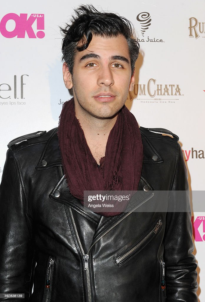 Tv personality Nick Simmons attends OK Magazine's So Sexy L.A. Event at LURE on May 21, 2014 in Los Angeles, California.