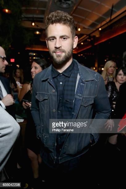 Tv personality Nick Viall at a celebration of music with Republic Records in partnership with Absolut and Pryma at Catch LA on February 12 2017 in...