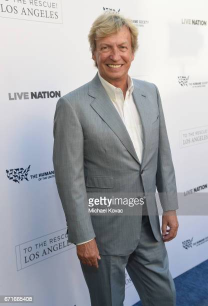 Tv personality Nigel Lythgoe at The Humane Society of the United States' To the Rescue Los Angeles Gala at Paramount Studios on April 22 2017 in...