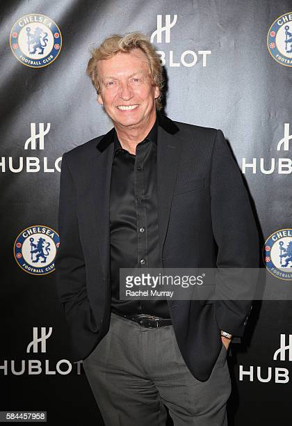 Tv personality Nigel Lythgoe attends Hublot x Chelsea FC event in Los Angeles at Sony Pictures Studios on July 28 2016 in Culver City California