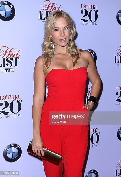 Tv personality Pili Montilla attends Latina Magazine's 20th Anniversary Event Celebrating Hollywood Hot List Honorees at STK Los Angeles on November...