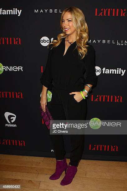 Tv personality Pili Montilla attends LATINA Magazine's 30 Under 30 Celebration at SkyBar at the Mondrian Los Angeles on November 13 2014 in West...