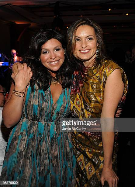 Tv personality Rachael Ray and actress Mariska Hargitay attend the Food Bank for New York City's 8th Annual CanDo Awards dinner at Abigail Kirsch�s...