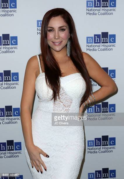Tv personality Ruby Molina attends the 20th Annual National Hispanic Media Coalition Impact Awards Gala at Regent Beverly Wilshire Hotel on February...