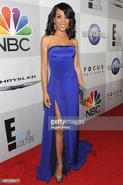 Tv personality Shaun Robinson attends the Universal NBC Focus Features E sponsored by Chrysler viewing and after party with Gold Meets Golden held at...
