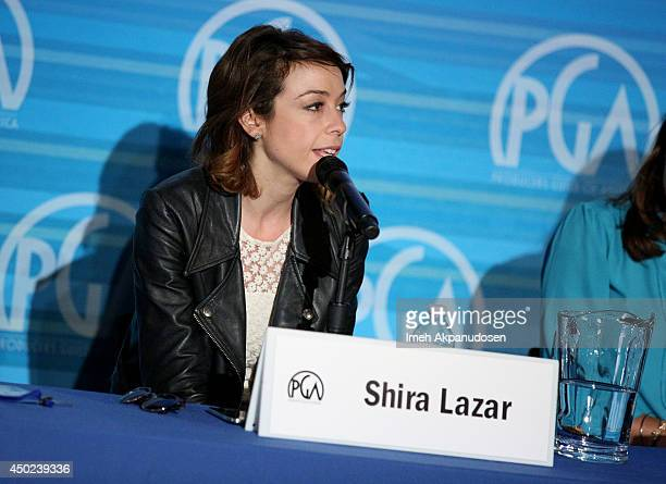 Tv personality Shira Lazar attends the 6th Annual Produced By Conference Presented By PGA at Warner Bros. Studios on June 7, 2014 in Burbank,...