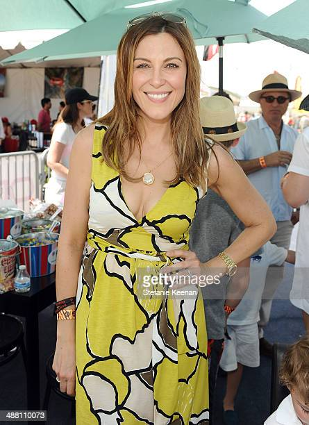 Tv personality Thea Andrews attends The Horsemen Flight Team Event Hosted By Dan Friedkin And Lauren Sanchez Whitesell sponsored by Casamigos Tequila...