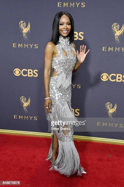 Tv personality Zuri Hall attends the 69th Annual Primetime Emmy Awards at Microsoft Theater on September 17 2017 in Los Angeles California