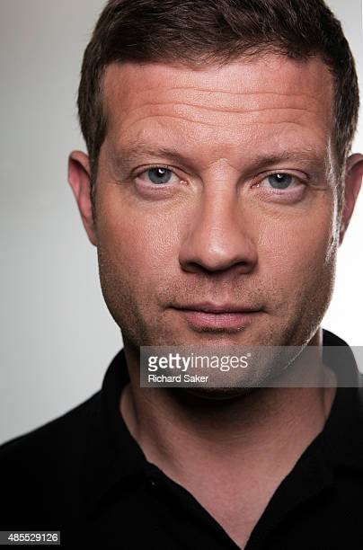 Tv presenter and broadcaster Dermot O'Leary is photographed for the Observer on June 18 2015 in London England