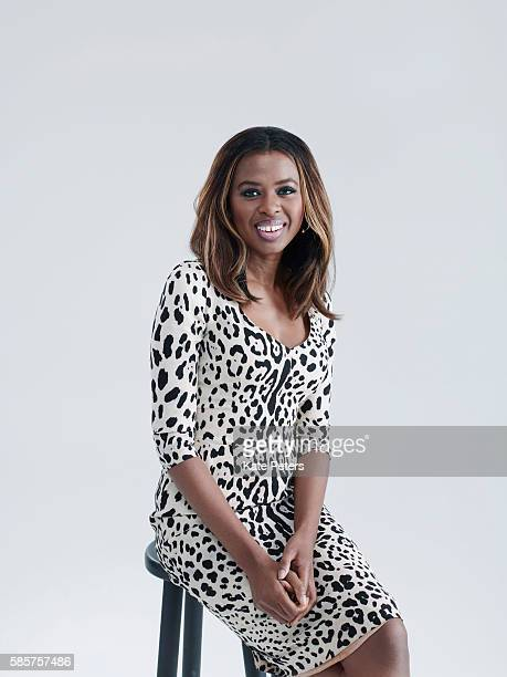 Tv presenter and broadcaster June Sarpong is photographed for Grazia on June 1 2016 in London England