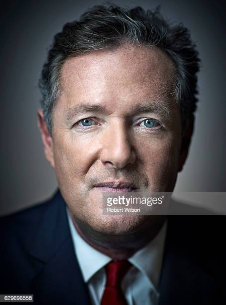 Tv presenter and columnist Piers Morgan is photographed for The Times on July 25 2016 in London England