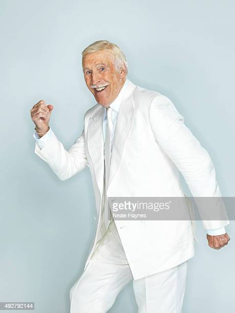 Tv presenter and comedian Bruce Forsyth is photographed for the Daily Mail on August 24 2015 in Wentworth England