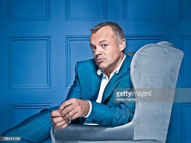 Tv presenter and comedian Graham Norton is photographed for Live Night & Day magazine on October 18, 2011 in London, England.