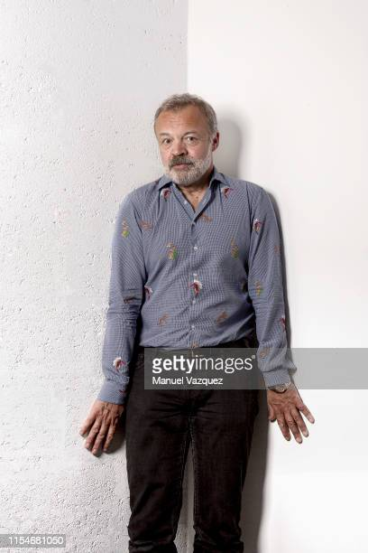 Tv presenter and comedian Graham Norton is photographed for Liberation on May 2, 2019 in London, England.