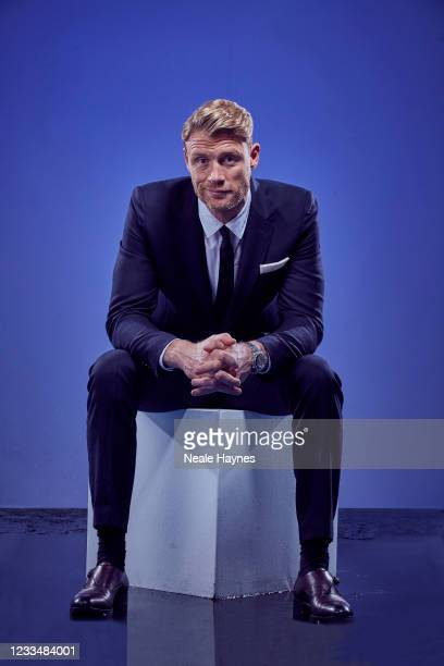 Tv presenter and former professional cricketer Andrew Flintoff is photographed for the Daily Mail on October 14, 2020 in London, England.